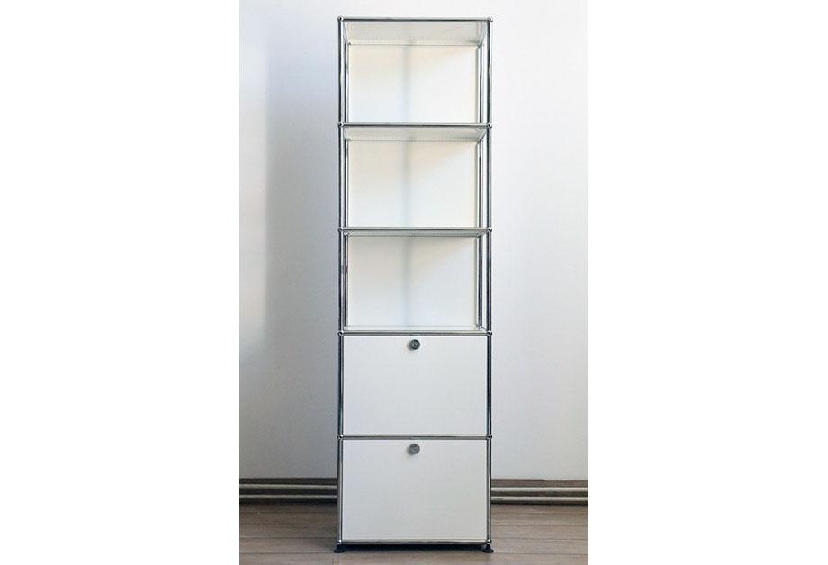 shelf usm haller 290817 02 abatrans. Black Bedroom Furniture Sets. Home Design Ideas